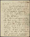 William H. Crawford letter to D. B. Mitchell, 1817