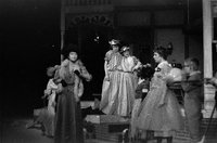 "Production photograph, scene from ""Seven Little Rebels"" performed at Pioneer Memorial Theatre, University of Utah, 1963 [44]"