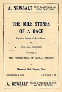 """Mile Stones"" of a Race Program"