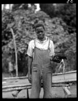 Boy at home of negro on way to San Luis
