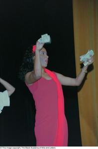 Sherine Bailey of the Ashe Caribbean Performing Arts Ensemble Ashe Caribbean Dance