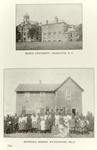 Biddle University, Charlotte, N.C.; Bethesda Mission, Wynnewood, Okla