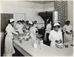 Howard Orphanage and Industrial School children learning how to bake