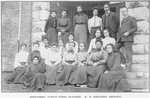 Montgomery avenue school teachers. W.H. Singleton, principal