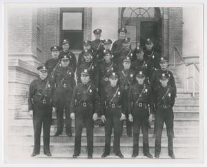 Abilene Police Captain Tom Summers with Officers of Shift Three