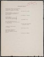 Fabisinski Committee, February 1956