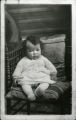 Marjory Werts Wilkins at six months. Postcard photograph taken at St. Joseph's Hospital. The original was hand colored by Marjory at age nine.
