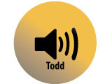 Audio recording clip of interview with Faye Todd by Claytee D. White, October 15, 1996