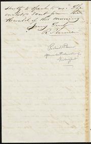 Letter to] Bro Garrison [manuscript