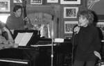 Jazz singer Annie Ross, 1993