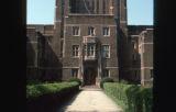Fisk University: detail of entrance to Cravath Hall