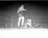Boxing Matches; Joe Louis vs. Abe Simon.