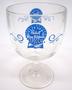 Pabst Blue Ribbon Beer goblet
