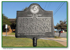Louis H. Persley historical marker