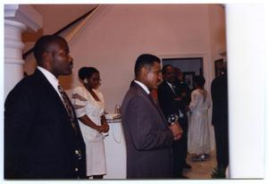 Men at New Member Induction Ceremony San Antonio Chapter of Links Records