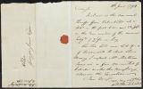 David Brydie Mitchell letter to George Jones, 1794