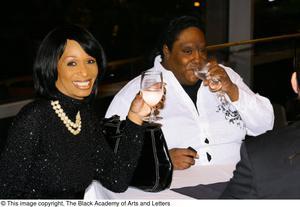 [Women drinking wine] Hip Hop Broadway: The Musical