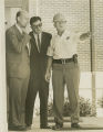 U.S. Deputy Attorney General Nicholas Katzenbach at the University of Alabama in Huntsville, on the day Dave Mack McGlathery enrolled as the first African American student at the school.