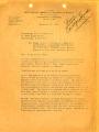 Carl W. Reuss correspondence with Raymond B. Witt, 1961 March 9