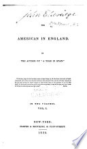 The American in England