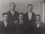 George Washington Carver's graduating class from Simpson, Iowa