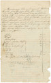 Account of wages owed by Rebecca Smith to freedmen whom she had contracted to work on her plantation for a year.