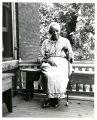 Elderly woman, possibly an ex-slave