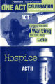 One Act Celebration, Two Compelling Dramas-One Evening