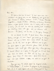 """Letter from """"Lucy"""" to William Saunders"""