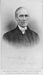 The reputed President of the Underground Railroad; Mr Coffin and his wife aided more than 3000 slaves in their flight
