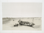 Slave boat on the Nile - View looking towards the pyramids of Dashour and Saccara