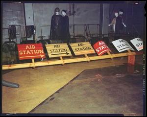 AMEL- signs, rain test