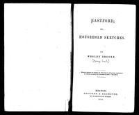Eastford, or, Household Sketches