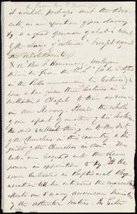 Fragment of letter from Maria Weston Chapman