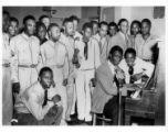 Nat King Cole at Norfolk, Virginia USO-YMCA
