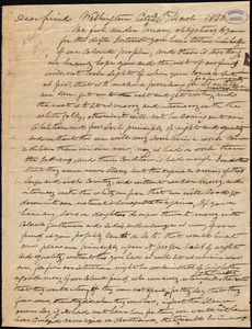 Letter from William Joler, Washington, [D.C.], to William Lloyd Garrison, 26th March 1850