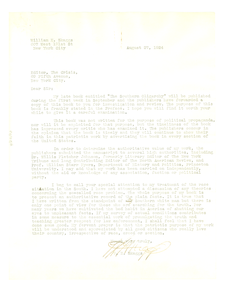 Letter from W. H. Skaggs to Editor of the Crisis