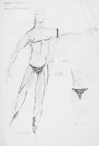 Thumbnail for Concept Drawing for Alvin Ailey Dance