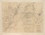 Map of the country between Millikens Bend, La. and Jackson, Miss. shewing the routes followed by the Army of the Tennessee under the command of Maj. Genl. U.S. Grant, U.S. Vols. in its march from Millikens Bend to the rear of Vicksburg in April and May 1863