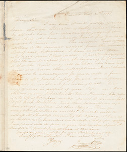 Letter from James Forten, Philad[elphi]a, [Pennsylvania], to William Lloyd Garrison, 1831 Feb[ruar]y 2nd