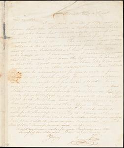 Letter from James Forten, Philad[elphi]a, [Pennsylvania], to William Lloyd Garrison, 1831 Feb[ruar]y 2nd