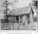 Home of Peter Walker, near Hephzibah, Ga., where Charles T. Walker lived during the first eight years of his life