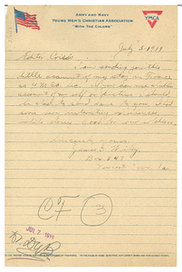 Letter from James G. Wiley to Editor of the Crisis