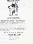 Mega Project flyer