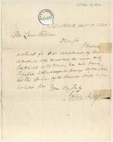 Letter from John Jay to Lewis Tappan