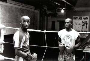 Two Unidentified Boxers in Ring, Salfero Gym