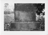 Alexandria Cemeteries Historic District: Baird tombstone base