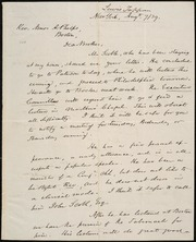 Letter to] rev. Amos A. Phelps, Dear Brother [manuscript