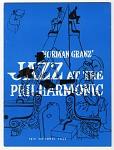 Norman Granz' /Jazz at the / Philharmonic / 16th National Tour [program], 1955