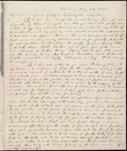 Letter from William Lloyd Garrison, Boston, [Mass.], to George Thompson, May 24, 1836